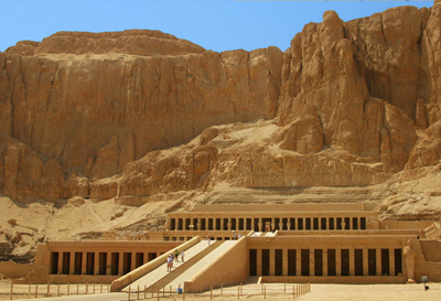 Hatshepsut temple in Luxor City