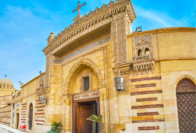 Old Cairo (Hanging church- saint serguis church - Ben Ezra  synagogue)