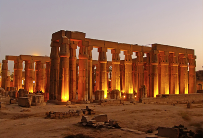 Luxor temple in Luxor City